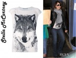 Penelope Cruz' Stella McCartney Wolf Top