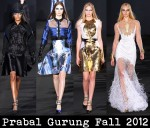 Prabal Gurung Fall 2012
