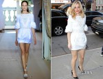 Rachel McAdams In Andrew Gn & Peter Som - Live With Kelly & Good Morning America