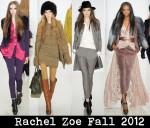 Rachel Zoe Fall 2012