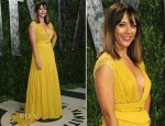 Rashida Jones In Elie Saab -  2012 Vanity Fair Oscar Party