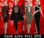 Reem Acra Fall 2012