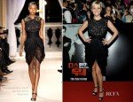 Reese Witherspoon In Giambattista Valli Couture - 'This Means War' Seoul Premiere