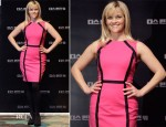 Reese Witherspoon In Michael Kors - 'This Means War' Seoul Press Conference