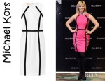 Reese Witherspoon's Michael Kors Stretch Cotton Blend Dress