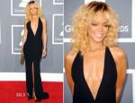 Rihanna In Giorgio Armani - 2012 Grammy Awards