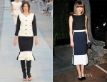 Rose Byrne In Chanel - Chanel and Charles Finch Pre-Oscar Dinner