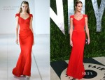 Rosie Huntington-Whiteley In Antonio Berardi - 2012 Vanity Fair Oscar Party