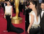 Sandra Bullock In Marchesa - 2012 Oscars