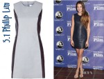 Shailene Woodley's 3.1 Phillip Lim Sleeveless Dress
