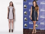 Shailene Woodley In 3.1 Phillip Lim – 27th Annual Santa Barbara Film Festival
