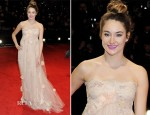 Shailene Woodley In Dolce & Gabbana - 2012 BAFTA Awards