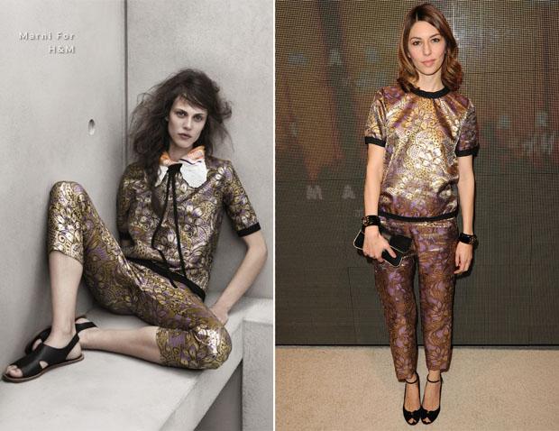 Sofia Coppola In Marni For H&M – Marni For H&M Collection ...