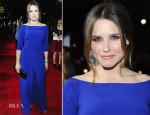 Sophia Bush In Olcay Gulsen - 'This Means War' LA Premiere