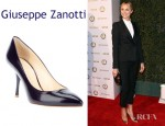 Stacy Keibler's Giuseppe Zanotti Leather Pumps