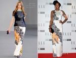 Tolula Adeyemi In Michael van der Ham - 2012 Elle Style Awards