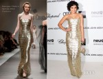 Vanessa Hudgens In Georges Chakra Couture - Elton John's AIDS Foundation Academy Awards Viewing Party