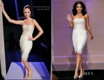 Vanessa Hudgens In Pamella Roland - The Tonight Show with Jay Leno