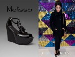 Vanessa Hudgens' Melissa Peace Wedge Sandals