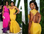 Venus & Serena Williams In Christiane King - 2012 Vanity Fair Oscar Party