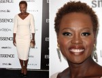 Viola Davis In Victoria Beckham - 5th Annual ESSENCE Black Women In Hollywood Luncheon