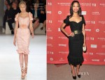 Zoe Saldana In Alexander McQueen - 'The Words' Sundance Film Festival Premiere