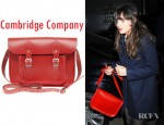 "Zooey Deschanel's Cambridge Company 11"" Satchel"