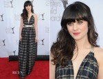 Zooey Deschanel In Vintage Shareen – 2012 Writers Guild Awards