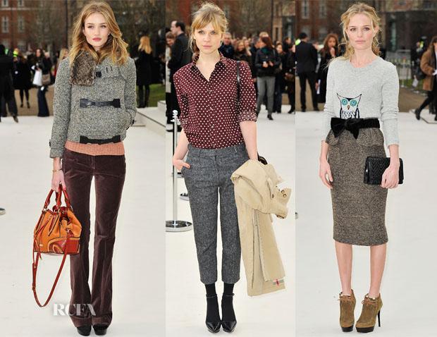 58ea2d6e174d Front Row   Burberry Fall 2012 - Red Carpet Fashion Awards