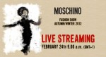 Moschino Fall 2012 Fashion Show Live Stream