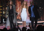 Jennifer Lopez In Blumarine & Valentino - FOX's 'American Idol' Season 11 Top 12 Shows