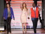 Jennifer Lopez In Reem Acra - American Idol Live Elimination Show