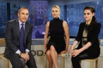 Charlize Theron In Christian Dior & Kristen Stewart In Diesel - The 'Today' Show