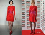 Agyness Deyn In House of Holland - 2012 Jameson Empire Awards