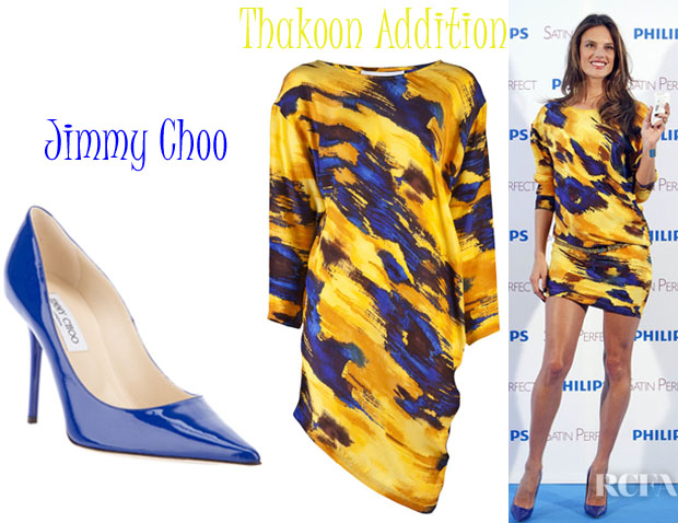 Alessandra Ambrosio Thakoon Addition Jimmy Choo