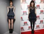 Alexa Chung In Valentino - NME Awards 2012