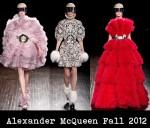 Alexander McQueen Fall 2012