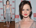 Alexis Bledel In Alberta Ferretti – 'Regrets' Off-Broadway Opening Night