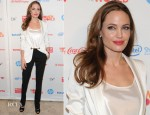 Angelina Jolie In Gucci - 3rd Annual Women In The World Summit