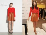 Ashley Greene In DKNY - DKNY Macy's Herald Square Meet & Greet