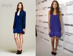 Ashley Madekwe In Richard Nicoll - LONDON Show ROOMS Cocktail Party