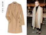 Ashley Olsen's The Row Fessing Camel Wool Coat