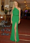 Best Dressed Of The Week - Karolina Kurkova In Elie Saab