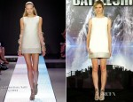 Brooklyn Decker In Giambattista Valli - 'Battleship' Madrid Photocall