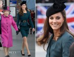 Catherine, Duchess of Cambridge In LK Bennett - Queen's Diamond Jubilee Tour