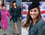 Catherine, Duchess of Cambridge In LK Bennett - Queen's Diamond Jubilee Tour