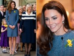 Catherine, Duchess of Cambridge In M Missoni – Plaque Unveiling at Fortnum & Mason Store