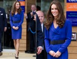 Catherine, Duchess of Cambridge In Reiss - The Treehouse Children's Hospice Opening