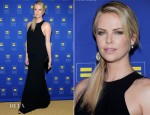 Charlize Theron In Acne - 2012 Human Rights Campaign Los Angeles Gala
