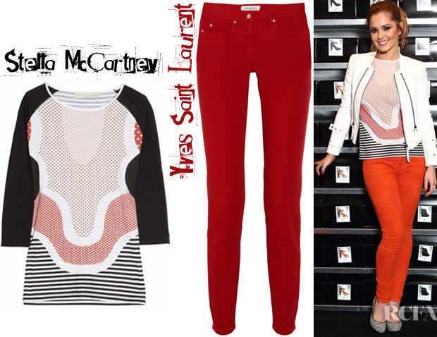 Cheryl Cole Stella McCartney YSL